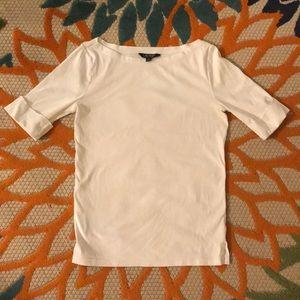Ralph Lauren short sleeve boat neck tee shirt